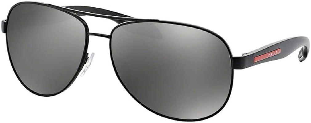 Prada PS53PS LIFESTYLE Pilot Sunglasses For Men+FREE Complimentary Eyewear Care Kit