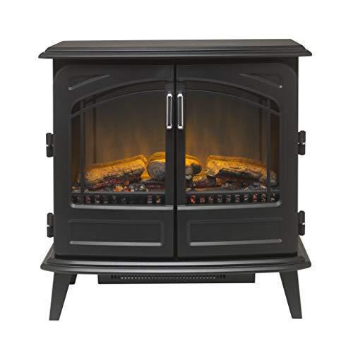 Dimplex RTOFSTV20 Cassia Noir Electric Fire, Plastic, 2000 W, Black