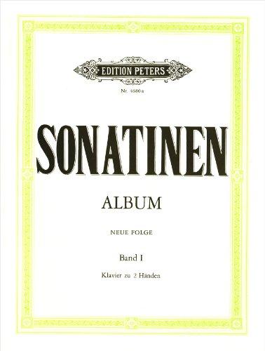 Sonatinen-Album, Band 1 (neue Folge): Eine Sammlung von Sonatinen und Stücken für Klaviere zu zwei Händen