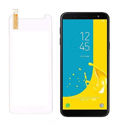 Smartphone-Equipment [2er Pack Panzerglas für Samsung Galaxy J6 2018 Echt-Hartglas 9H, Glasfolie Schutzfolie Glas Folie Panzerfolie Display Schutz