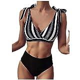 SHAOTANG Bikini Set Push-Up Traje De Baño Brasileño De Una Pieza Sexy para Mujer Bañador Halter Ropa De Baño