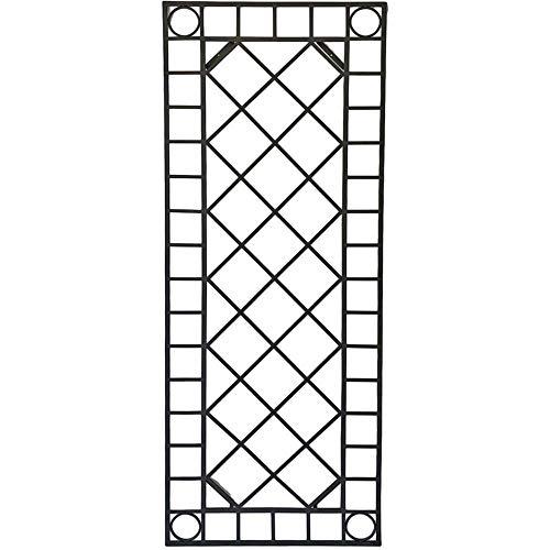 Unbekannt Metall Wand Dekor Gitter Garten Dekoration Terrasse Rankgitter schwarz