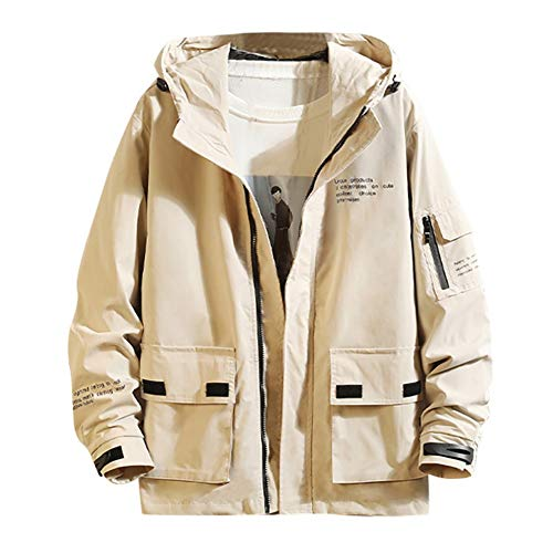 SHANGYI Jas Herfst Mode Jas Trench Jas Mannen Dunne Jas Hooded Casual Sport Jas Grote Maat