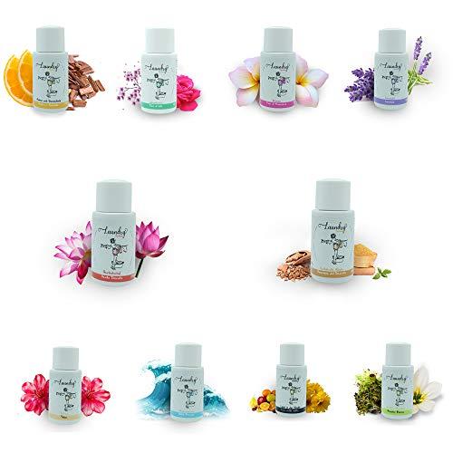 10er SET Parfüm für die Waschmaschine, Duft für die Waschmaschine, 20 ml, Wäscheduft, Wäscheparfüm