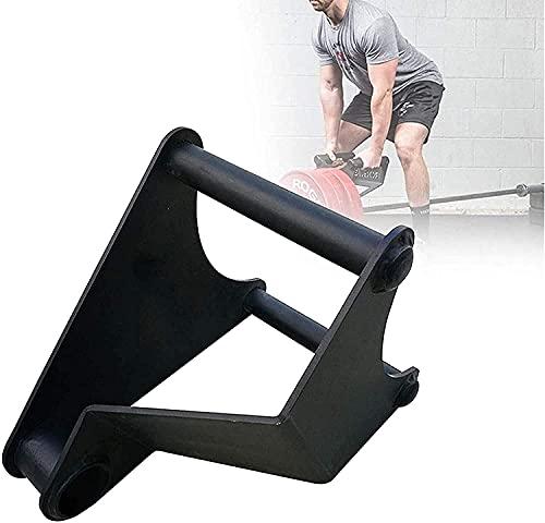 WSVULLD Publicidad de la manija de remo de la barra de la barra, Terra de la barra de la barra Terreta directa del agarre directo, el ejercicio de entrenamiento de la fuerza del brazo del hogar portát