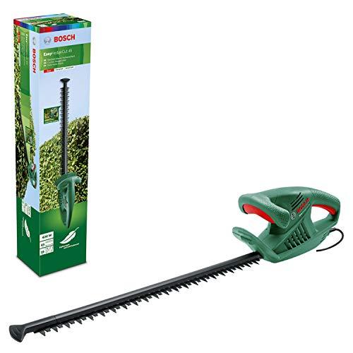 Bosch Home and Garden 0600847A05 Tijeras cortasetos eléctrico (420W, longitud de la cuchilla de 45cm, embalaje en caja), Multicolor
