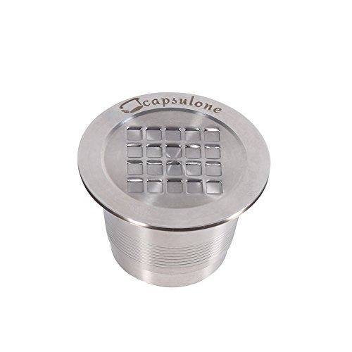 Koffie Capsule 2 Types RVS Refillable Herbruikbare Compatibele Koffie Capsule voor Nespresso Machine