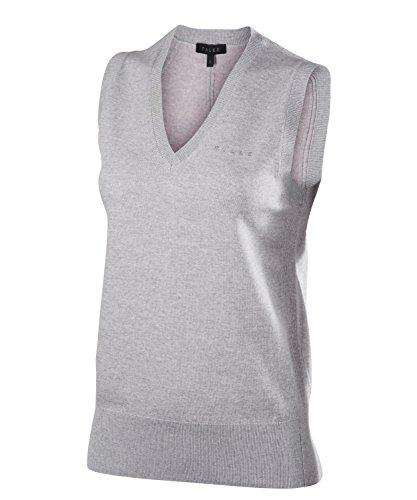 FALKE Damen Golf Tanktop Pullunder, Grey Heather, S