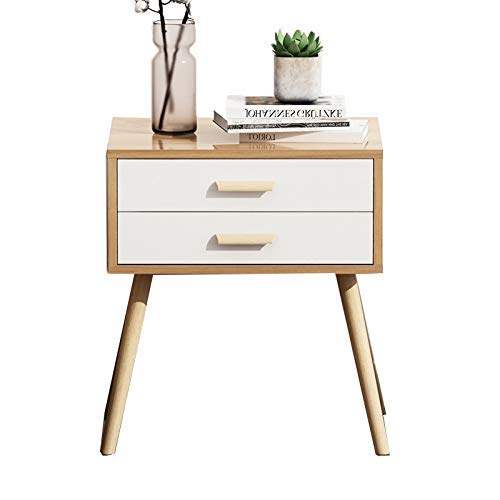 SXRL Beistelltisch/Beistelltisch, modernes Design, für Schlafzimmer, Wohnzimmer, Wohnung (Farbe: Walnuss, Größe: 40 x 40 x 60 cm), walnuss, 40 * 40 * 60cm
