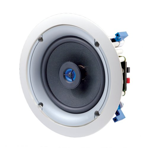Leviton SGC65-W 6.5-Inch Two-Way In-Ceiling Loudspeaker, White