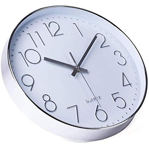 Reloj de Pared de Cuarzo silencioso Moderno Simple de 12 Pul