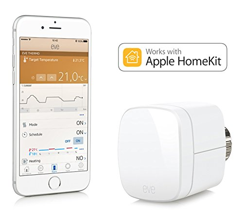 Elgato Eve Thermo – Heizkörperthermostat mit Apple HomeKit-Unterstützung, Bluetooth Low Energy - 2