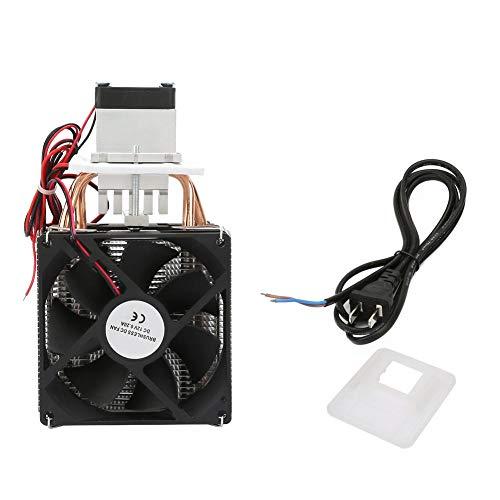 YWBL-WH CC 12V 5A Semiconductor Frigorifero refrigerazione a semiconduttore di raffreddamento termoelettrico termoelettrico Peltier fai da te mini frigo con ventilatore ()