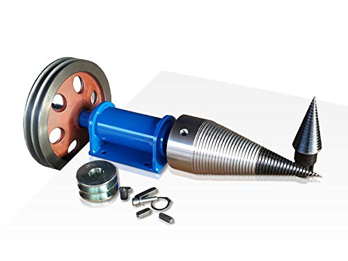 Holzspalter Kegelspalter 120 mm Zapfwelle 2 x Riemenscheibe LTR 120/K/K