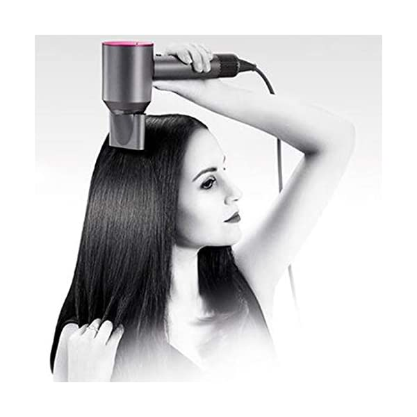 Beauty Shopping Dyson Supersonic Hair Dryer, Iron/Fuchsia, 1200W