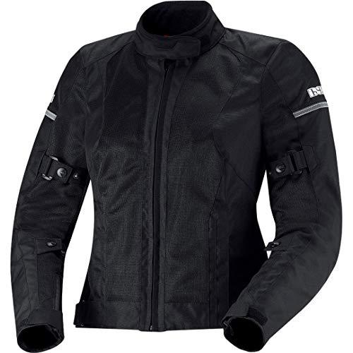 IXS Alva Donna motociclo Giacca in tessuto, X-Jacke ALVA, nero, S