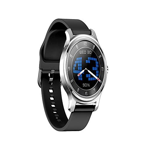huanglianglanshangmao Reloj de función Multi-Deporte, Ritmo cardíaco y monitoreo de la presión Arterial, Reloj Inteligente Llamado Bluetooth (Color : 5)