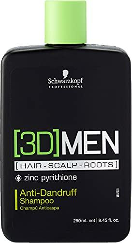Schwarzkopf - 3D Men - Hair-Scalp-Roots - Champú...