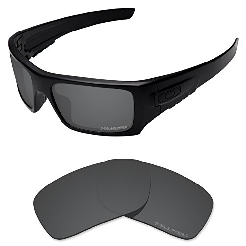 Tintart Performance Lenses Compatible with Oakley Si Ballistic Det Cord Polarized Etched-Carbon Black