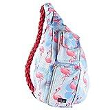 Sling bag backpack (Flamingo)