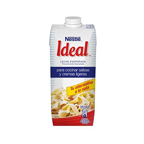 Nestlé Ideal - Leche Evaporada - 4 Paquetes de 500 ml