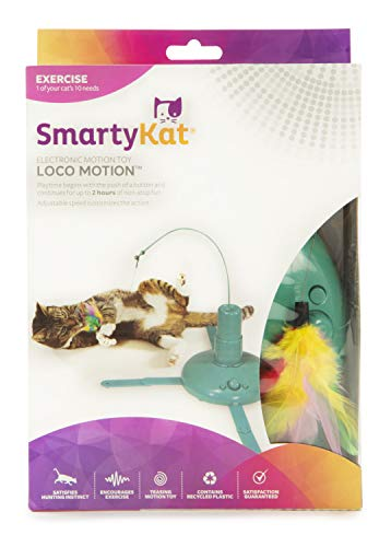 SmartyKat Loco! Motion Cat Toy Automated Activity Toy