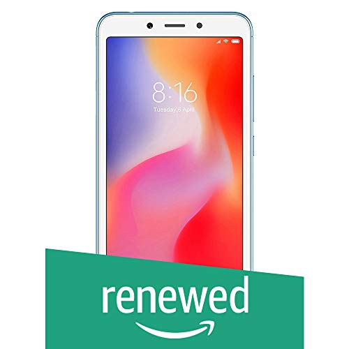 (Renewed) Redmi 6A (Blue, 2GB RAM, 32GB Storage)