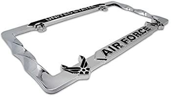 Mitchell Proffitt USAF Air Force Metal Premium License Plate Frame