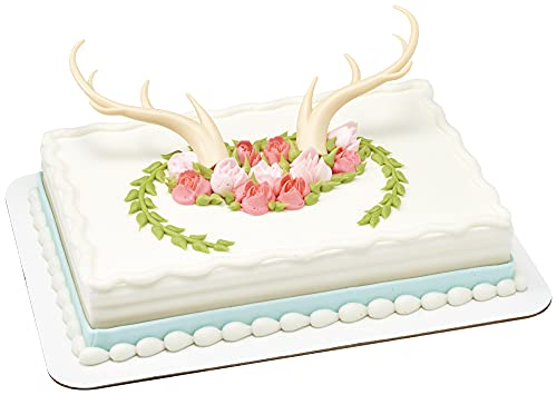 DecoPac Cake Decorating ANTLERS CREATIONS Cake Topper for Birthdays and Parties