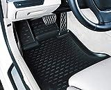 Element EXP.ELEMENT3D02181210k 3D Alfombrillas Interior de Coche a Medida TPE BMW X2, 2018-, SUV, 4 pcs, Negra, Personalizzati