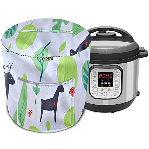 Couvercle pour cuiseur à riz, cocotte et autocuiseur électrique, couvercle avec poche (vert)