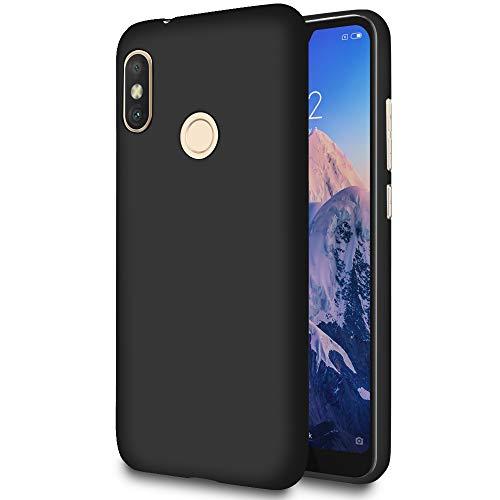 United Case TPU Housse pour Xiaomi Mi A2 Lite (Redmi 6 Pro)   Noir Coque   Poids léger