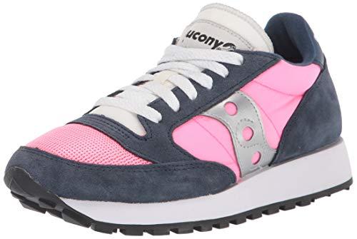 Saucony Jazz Original Vitnage, Sneakers Basse da Donna, (Bleu Marine Vizipink), 38 EU