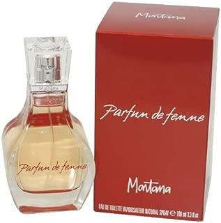 Montana Parfum De Femme by Montana For Women. Eau De Toilette Spray 3.4-Ounces