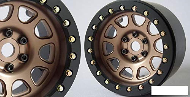 SSD 2.2  D Hole Beadlock Wheels BRONZE gold SSD00308 12mm Hex 6 bolts only