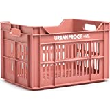 Urban Proof fahrradkiste 30 Liter Polypropylen warm rosa