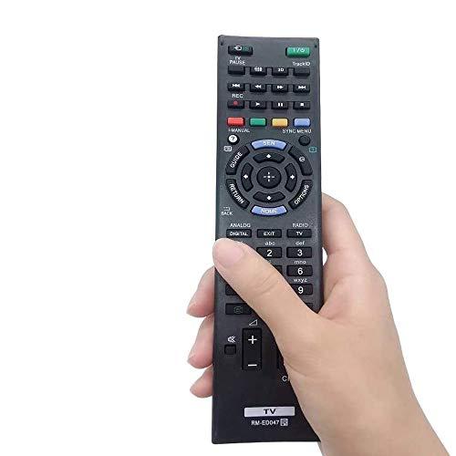 FireRune Neue Sony Ersatz-Universalfernbedienung RM-ED047 mit Netflix-Tasten, Für Sony Bravia Smart TV - Keine Einrichtung erforderlich Universalfernbedienung RMT-TX200E RMT-TX102U RM-ED047