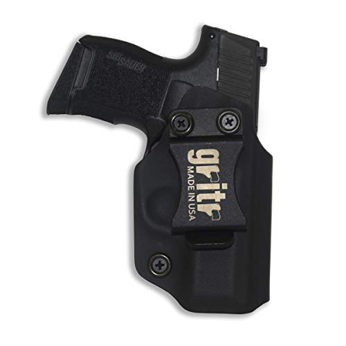 GRITR Holster for Sig Sauer P365 - Made in USA,  KYDEX, Inside The Waistband - IWB, Left Hand