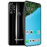 """YouthRM Smartphones Desbloqueados,teléfonos Móviles R30 Pro Android 9.0,4G Dual SIM Desbloqueados, Pantalla HD de 6.3 """",cámaras Triples, 8GB / 256GB, Extensión de 128GB, Batería de 4500mAh,Black"""