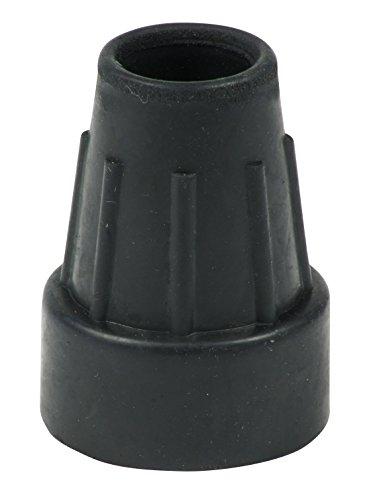Lifeswonderful® - 4 Stück Strapazierfähige Schutzkappen 19mm Gummifuß für Krücken/Gehstöcke