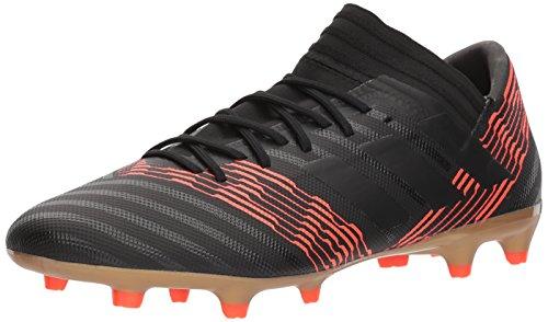 adidas Men's Nemeziz 17.3 FG Soccer Shoe, Core Black/Core...