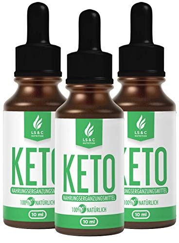 KETO | Drops | Tropfen | Lipo | Burn | EXTREM & SCHNELL & EASY | STOFFWECHEL, KETOGEN | 10 ml (3)