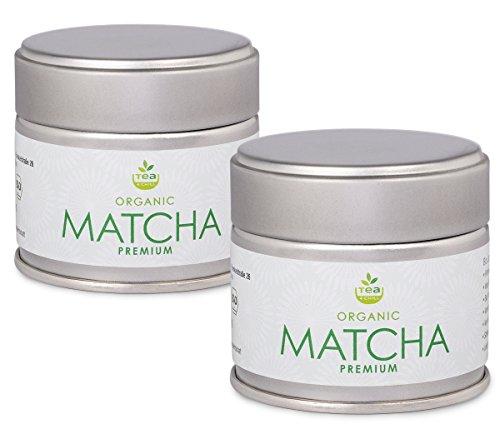 tea4chill Matcha Tee 60g - Premium Qualität. Original Grüntee-Pulver aus Japan (Präfektur Aichi). Verpackt in 2 hochwertigen Aromaschutzdosen zu je 30g Matcha.