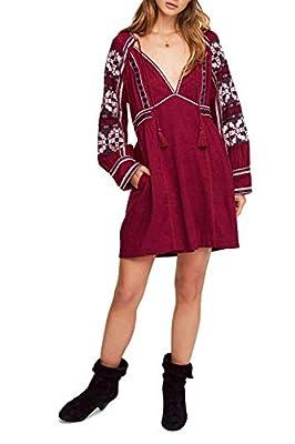 Free People All My Life Mini Dress Light Purple MD (Women's 8-10)