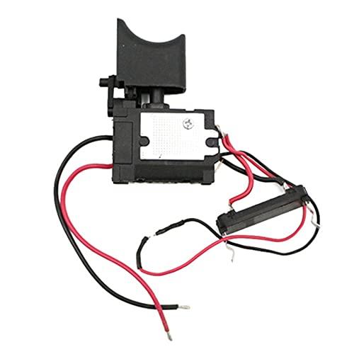 LiuliuBull L Interruptor de perforación del Controlador de la Velocidad de perforación Batería de Litio Interruptor de activación de Broca sin Cable con luz pequeña 16.8 V