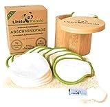 Little Panda Abschminkpads waschbar aus Bambus & Bio-Baumwolle | 14 wiederverwendbare Wattepads...
