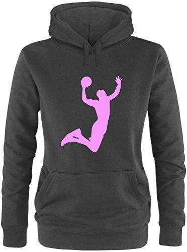 EZYshirt® Basketball | Slam Dunk Damen Hoodie