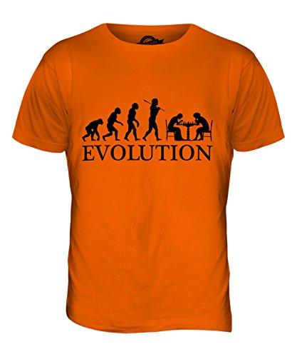 Ajedrez y Accesorios para de la evolución de Man - para Hombre T-Camiseta de Manga Corta en la Parte Superior y