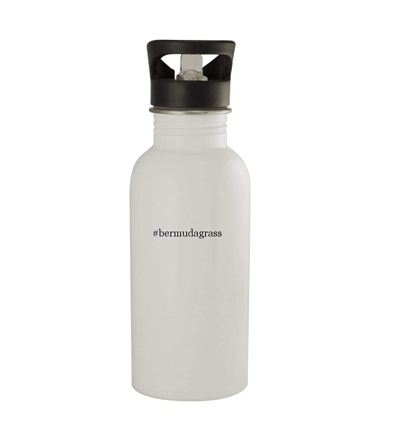 Knick Knack Gifts #Bermudagrass - 20oz Sturdy Hashtag Stainless Steel Water Bottle