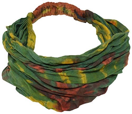 Gheri - Cinta de algodón nepalés teñido, colorida y de estilo hippy